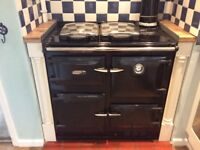 AGA Rayburn 400K with flue and manuals
