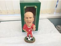 NEW WELSH FOOTBALL LEGEND JOHN HARTSON COLLECTABLE FIGURE