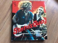 Status Quo book, official 40th anniversary edition