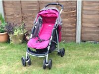 Graco Candy Rock Travel System - pushchair and car seat