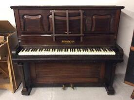 Bishop & Son traditional upright piano - DELIVERY AVAILABLE