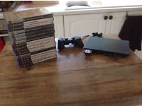 PS2 with 16 MB memory card and 16 games!!!