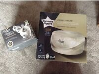 Tommee tippee Closer to Nature microwave steriliser and bottles. Brand new in boxes.