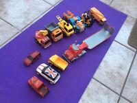 11x toy cars