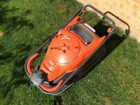 FLYMO VISION COMPACT 330 EASI REEL ELECTRIC HOVER LAWNMOWER / LAWN MOWER