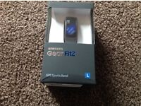 Samsung Gear fit2 GPS Sports band, BNIB unopened, Black Large.