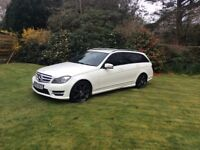 Mercedes Benz C220 cdi 2.1 Estate with AMG pack