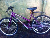 Crusader mountain bike, 22 inch wheels