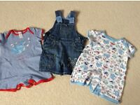 Baby boys summer clothes 3-6 months