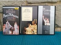 Ballet Performances on VHS Tapes
