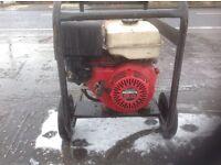 Petrol driven electrical generator