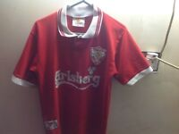 Retro child's liverpool shirt