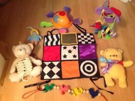 Baby toy bundle