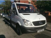 Mercedes sprinter 2.1 cdi recovery truck 2011 fsh electric winch alloy back