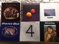 Vinyl records LP's