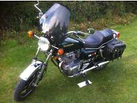 Honda CM400 Motorbike