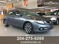 2013 HONDA CIVIC TOURING - *HONDA CERTIFIED!*