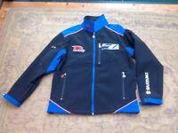 Suzuki GSXR jacket, men's size small, lady's size 12/14