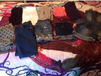 Girls giant bundle age 10-11 11-12 yrs size 13 shoes x