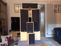 Elias surround sound speakers