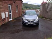 Excellent 2009 1.4 petrol four door Corsa with replacement low mileage engine
