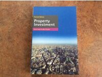 Property Investment. By David Isaac & John O'Leary ISBN 9780230290242