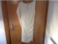 ANGELABABY cream dress size M/L about 12/14. Brand new with tags from Sisters of Falkirk. REDUCED.