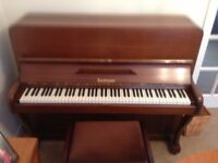 Bachman upright piano. Family left home, sorry to lose an old friend.
