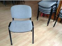 Church hall stacking chairs