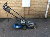 SOLD AND GONE Macallister Electric LAWNMOWER - must go due to house move!!