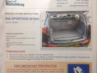 Kia Sportage 2010 - 2015 fitted boot liner
