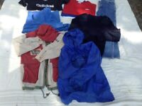 Job lot clothes boys age 10 to 12 years. Plus 2 Boys Coats.