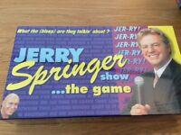 Vintage Jerry Springer Board Game new and sealed