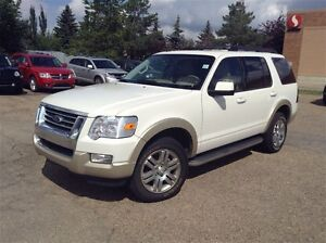 2010 Ford Explorer Eddie Bauer V8, Leather, Moon, Nav, 3rd Row