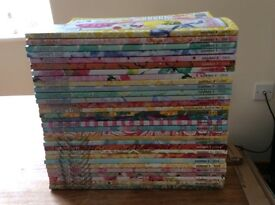 Complete set of daphnes diary magazines