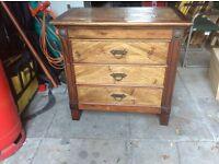 3 draw dresser