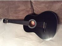Black Stagg Guitar and case