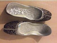Banarsi Khussa Style Ladies Shoes