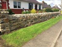 Lovely Blonde Re-claimed Sandstone perfect for walling or House building.
