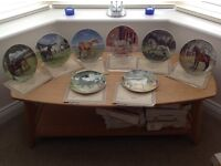 Complete set of Spode Noble Horse decorative plates