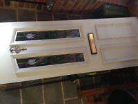 UPVC Front door - inner panel only.