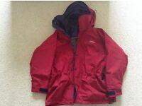Ladies size 12 berghaus high performance mountain jacket