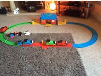 Thomas the Tank and friends first train set