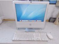 Apple Mac 5.1 Core2Duo 2GHz 1 Gb RAM 160Gb HD Mac Keyboard and Mouse