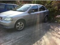 For sale Vauxhall 1.4 astra for spares and repairs