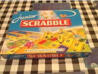Jr scrabble board game 5 to 10 years