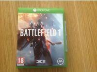 Xbox One Battlefield 1 game