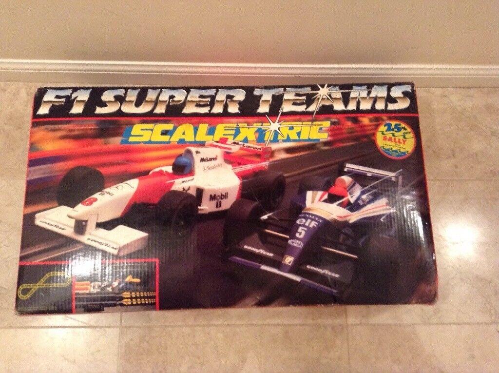 Formula 1 Super Teams Scalextric.