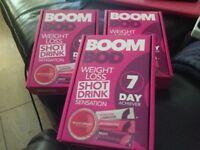 Boom Bod weight loss shot drinks