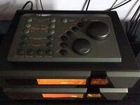 Quad 66 Pre-Amp, 66 Remote Control and 66 FM Tuner.